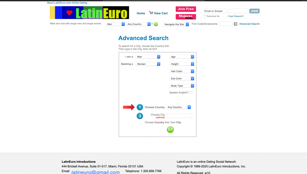 LatinEuro Registration