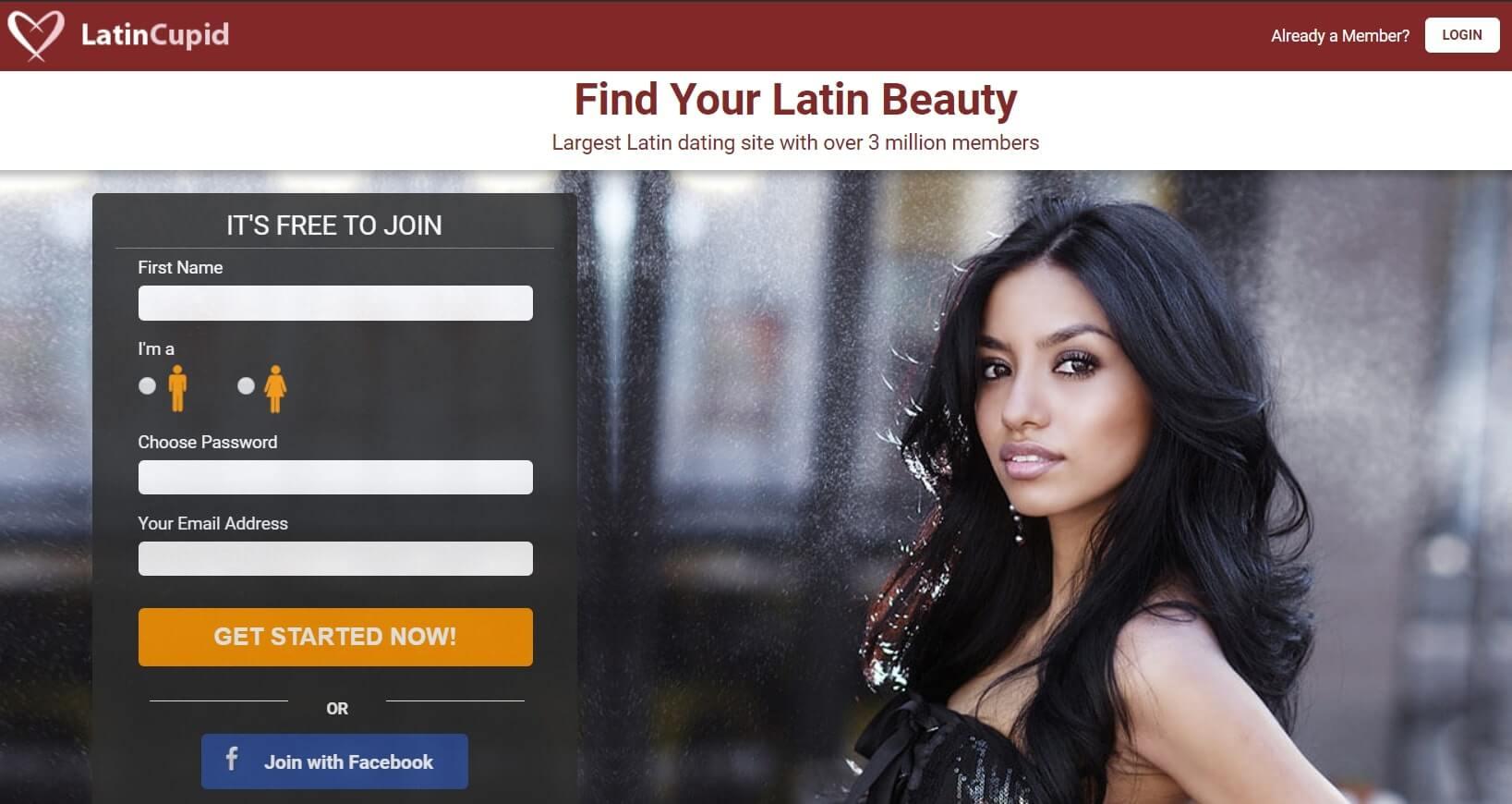 LatinCupid.com Registration